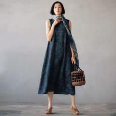 シウラス社 ドレスマリア リネンジャカード ワンピース