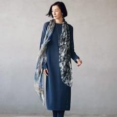 メッシュ編み チュニック&カーディガン