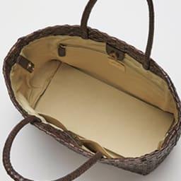 インド製 メッシュ トートバッグ INSIDE
