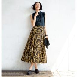 LIBERTY PRINT/リバティプリント 「マリー・アントワネット」 スカート コーディネート例