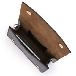CHRISTIAN VILLA/クリスチャンヴィラ ワイドメッシュ バッグ(イタリア製) 138mm×67mmスマートフォン 内ポケット収納可