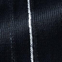 コットン混 総針編み パンツ 生地アップ