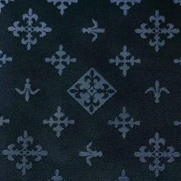 russet/ラシット たためるバッグ (ア)ブラック×ネイビー