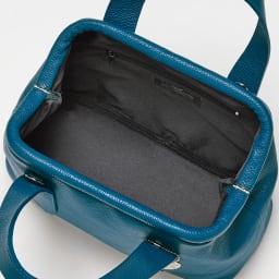 LAURA DI MAGGIO(R)/ラウラ ディ マッジオ 2WAYレザーバッグ(イタリア製) inside (イ)ブルーグリーン
