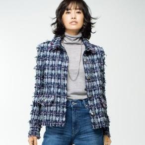 マリア・ケント社 ファンシーツイードジャケット 写真