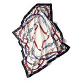 シルクツイル プリント スカーフ...