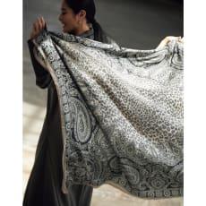 ビンダ社 ペイズリープリント スカーフ