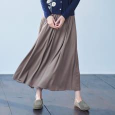 ウールジャージー フレアースカート
