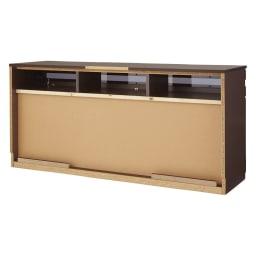 ラインスタイルハイタイプテレビ台シリーズ テレビ台・幅150cm 背面 ※写真は幅178cmタイプです。