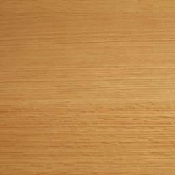オーク材ブロンズガラスアールデザインシリーズ テレビ台 幅180cm 明るく清々しい(ア)ナチュラル。オーク材ならではの木目が楽しめます。