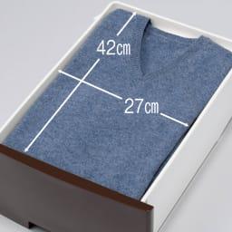 家族の衣類を一括収納 大量収納タワーチェスト 1列・7段タイプ 引き出しは全段入れ替えが可能なので、衣替えの際にも便利です。
