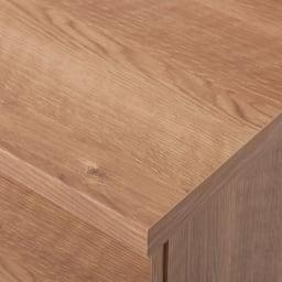 天然木調テレビ台シリーズ ロータイプテレビ台 幅159.5高さ40.5cm 天板も美しい仕上がりです。