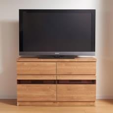 天然木調テレビ台シリーズ ハイタイプテレビ台 幅100.5高さ60cm