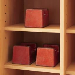 アルダー天然木頑丈書棚幅60奥行32ハイタイプ高さ180cm 棚1枚当たり耐荷重約30kgの頑丈設計。 ※写真はイメージです。