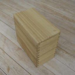 イシモク「桐子モダン」 桐の米びつ 20kg シンプルな形が桐の素材感を引き立てます