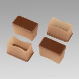 脚ピタキャップ 16個組 長方形L お届けは16個セットです。