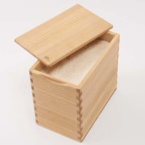 イシモク「桐子モダン」 桐の米びつ 5kg 写真