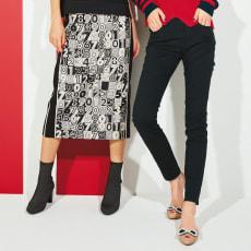 イタリア素材 ナンバージャカードスカート