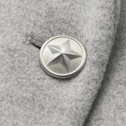 星柄さがら刺しゅう チェスターコート