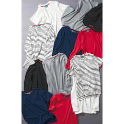 超長綿スビンギザコットン ワイドリブTシャツ 超長綿スビンギザコットン シリーズ