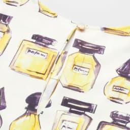 LOLITAS&L/ロリタス&ロロス 香水瓶柄チュニックワンピース BACK STYLE