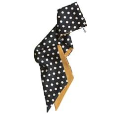 MALFROY/マルフロイ ドット柄シルク&ウール スカーフ(フランス製)
