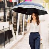 遮光一級 ジャンボ日傘のび~る 写真