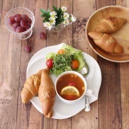 【ディノス限定セット】 フスボン 低糖質パンおすすめ3種12個入りセット 盛り付け例