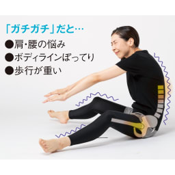 柔ら美人 開脚ベター 身体が固くてもグイッと伸びる!