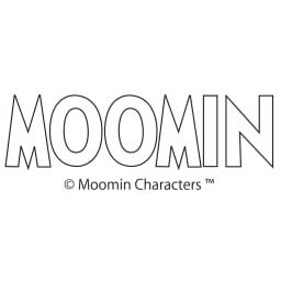 ムーミン&リトルミイ ゆるシルエットTシャツ