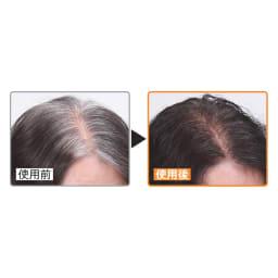 レフィーネ リタッチカバー 50g 伸びてきた白髪も1回で簡単リタッチ 30分ほどで自然に乾き白髪をカバー。ドライヤーの冷風で乾かすと色落ちを防いでサラサラな仕上がりに。 ※個人差があります。