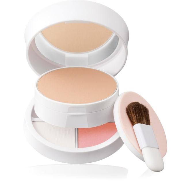 BRILLIAGE/ブリリアージュ UVスキンレボリューション GOLDISH スポンジの使い分けで3つの仕上がり ホワイト面…エレガントなハーフマットな肌質に ベージュ面…素肌っぽいツヤ肌に ホワイト面+ベージュ面…知的&カジュアルなツヤのある透明肌に