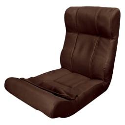 ピュアフィット 快適ソファー座椅子 らくらく腹筋生活DX (ア)ブラウン