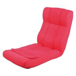 ピュアフィット 快適ソファー座椅子 らくらく腹筋生活DX (ウ)ピンク