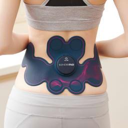 TBC スレンダーパッド2 DX専用交換用ジェルパッド(楕円形4枚・丸形4枚) original 腰用モード 体幹を鍛えるために腰・骨盤周りにアプローチ ランダムなEMS刺激で腰部の筋肉を心地よく刺激。