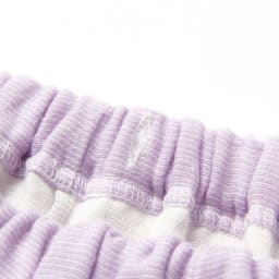 phiten/ファイテン 3重ガーゼ裏起毛パジャマ パンツはゴム交換が出来るようになっています。