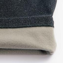ARIKI/アリキ 裏起毛プリントストレートパンツ(選べる股下2丈) 起毛した裏面は吸湿発熱と保温性に優れています。