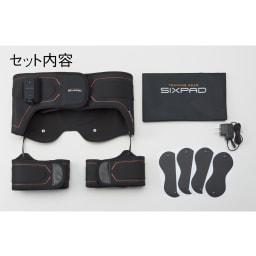 【送料無料】SIXPAD/シックスパッド BottomBelt Bottom Belt(ボトムベルト) セット内容