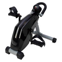 ALINCO/アルインコ エアロマグネティックミニバイク AFB2119K 自宅のイスに座ったまま、省スペースでサイクル運動ができます。またテレビを見ながら、仕事や家事の合間に座りながらできるので、すき間時間を有効活用し、気軽に運動ができます。