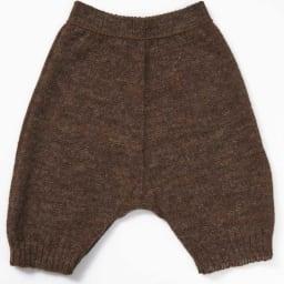 アルパカ混シリーズ 毛糸のホールガーメントパンツ(日本製) 裏側
