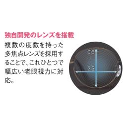 累進多焦点レンズ搭載のシニアグラス「ピントグラス」