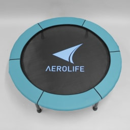 AEROLIFE/エアロライフ ホームジャンピング(折りたたみ式) 縁はブルーとグリーンのリバーシブル。