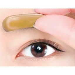 アイブロウスタンプ 同色同型2個セット  眉頭から眉尻に向かってゆっくりとスタンプ。