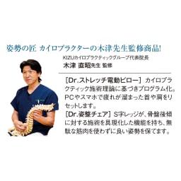 ルポゼ Dr.ストレッチ電動ピロー