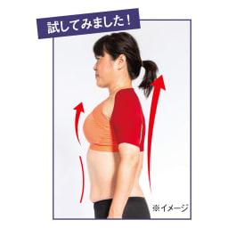 S襷 Light お得な2枚セット 着けることで胸が開き、美しい姿勢に導きます。 ※イメージ