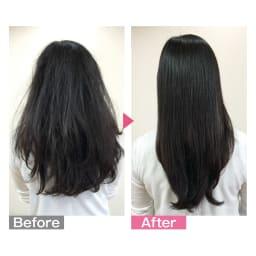 ラブクロム F シルバー テツキ 気になる髪のうねりや広がりがとかすことでさらさらに