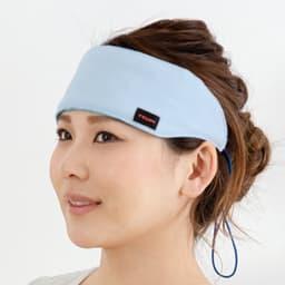 帝人 ネッククーラー2色セット(冷却ジェル4個付き) ズレにくいのでおでこや目元に巻いても快適です。