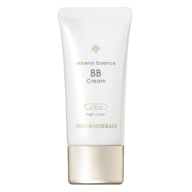 オンリーミネラル BBシリーズ ミネラルエッセンスBBクリーム ウルトラ (30g・SPF25/PA++) 肌をいたわりながらカバー力もUP!厚塗り感なくツヤ美肌へ ミネラルエッセンスBBクリーム ウルトラ ひと塗りでシミや色ムラを美しくカバーし、肌に密着して崩れにくい。ハイカバー&高密着なBBクリーム。