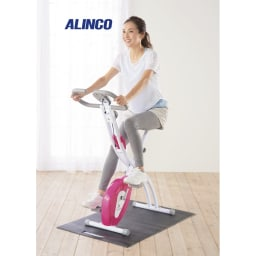 アルインコ/ALINCO クロスバイク AFB4417X 電源不要で経済的! ※使用時は必ずフロアマットを床に敷いてご使用ください。(フロアマットミニ推奨) ※運動靴を履いてご使用ください。