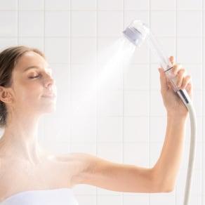 ミラブル シャワーヘッド ミラブルプラス(本体+トルネードスティック) 写真